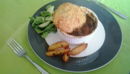 Ierse beef and guiness stew pie recept