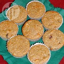 Appel-havermoutmuffins recept