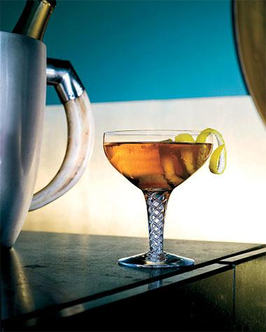 Recept 'champagnecocktail'