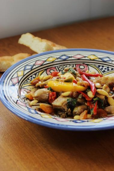 Recept 'marokkaanse kip'