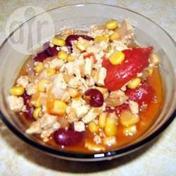 Veganistische tofu-chili recept