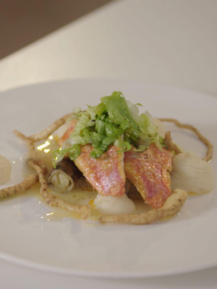 Recept 'zeebarbeel met schorseneren en knolselder'