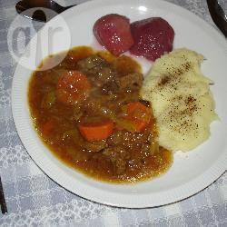 Hachee recept