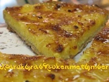 Ananas/cocos flantaart recept