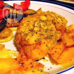 Zoet-pittige caribische kip recept