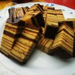 Spekkoek (kek lapis) recept