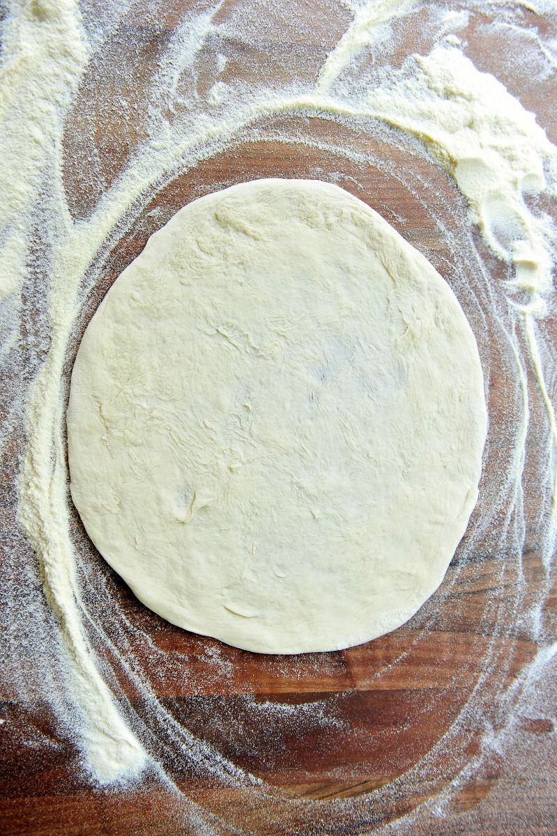 Recept 'peppe's basisrecept voor pizzadeeg'