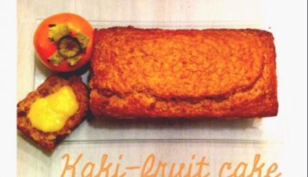 Kakifruit cake recept