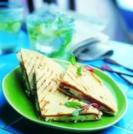Quesadillas met parmaham en geitenkaas recept
