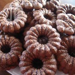 Shortbread met chocolade en marsepein recept