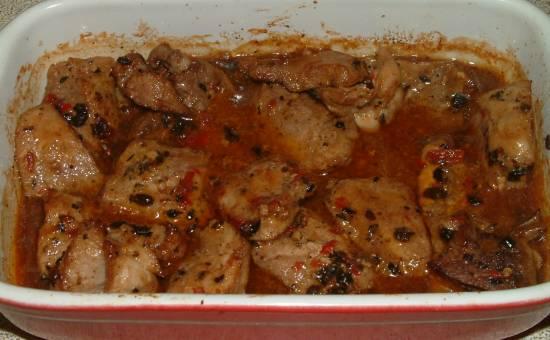 Chinese varkensvlees met zwarte bonen recept