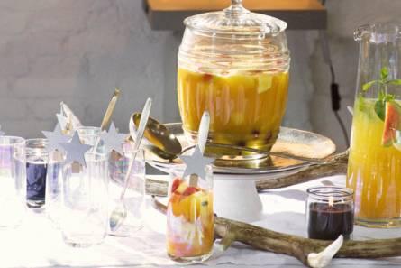 Punch met ananas en kardemom