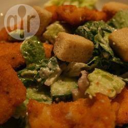 Makkelijke caesar salade met kip recept