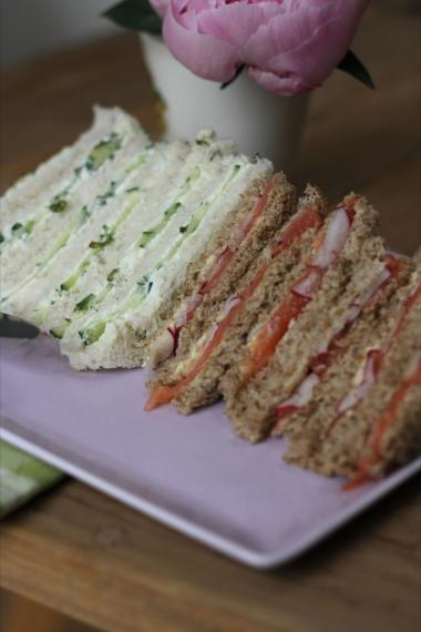 Recept 'tea sandwiches'