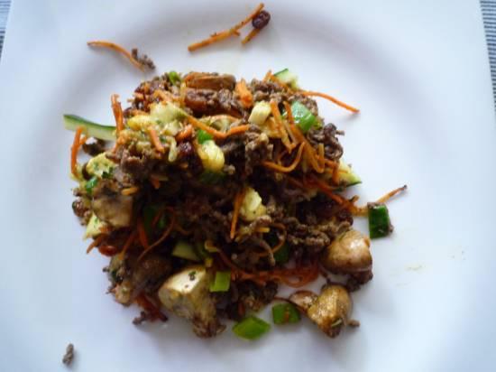 Caloriearm gerecht: gevulde courgettes recept