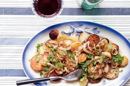 Aardappel met ui