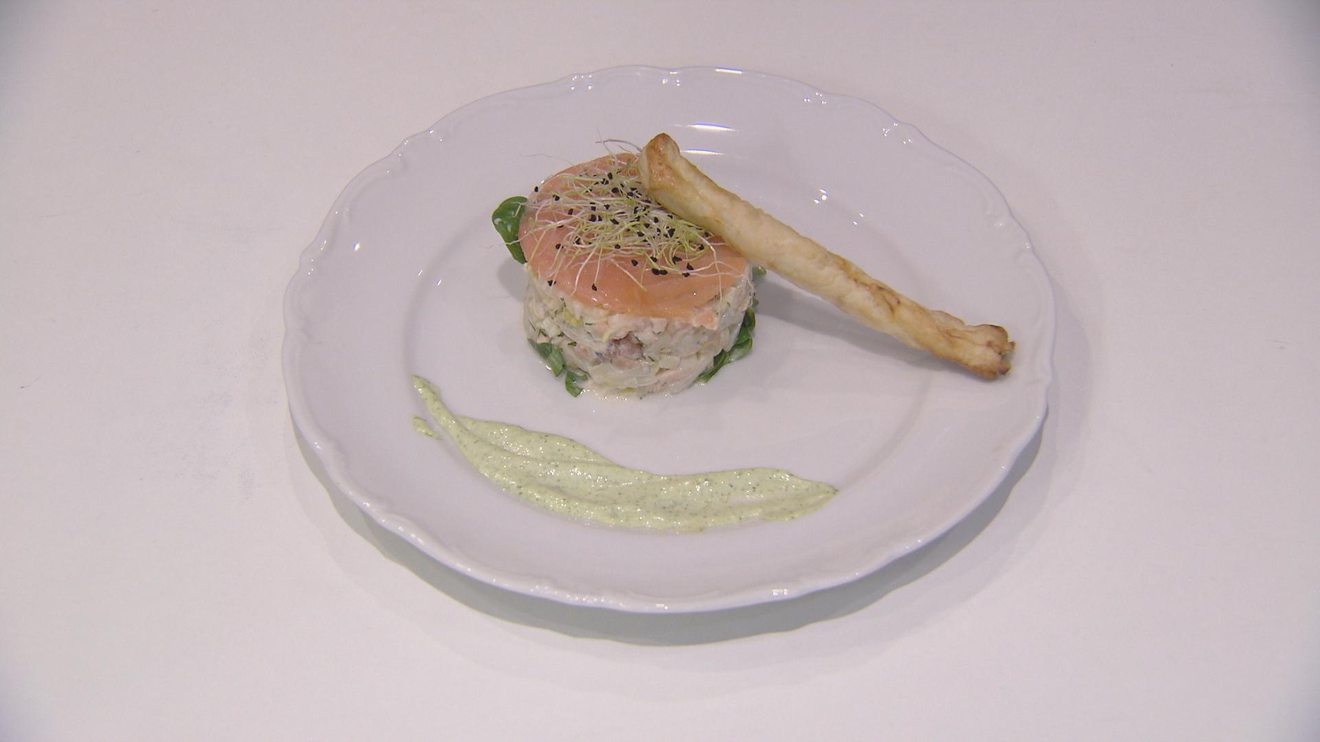 Witloofsalade met lindasaus