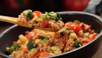 Risotto met kip en broccoli recept