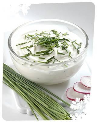 Kruiden-kwark saus (lekker voor bij de bbq!) recept