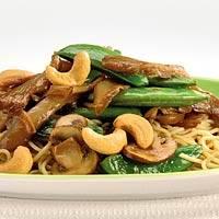 Eiermie paddestoelen cashew recept