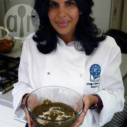 Curry met paneer (kaas) en spinazie recept