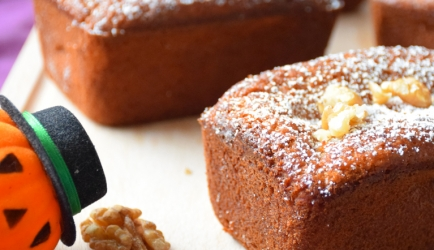 Ideaal halloween pompoengebakje! recept