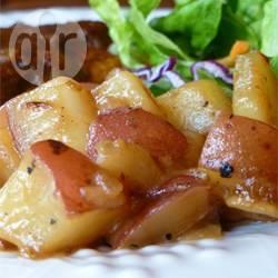 Aardappels met honing uit de oven recept