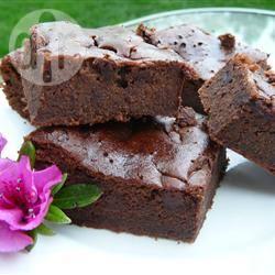 Beth's brownies met zwarte bonen recept