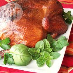 Gerookte kip met verse kruiden recept