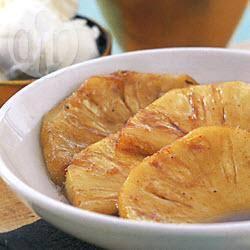 Geflambeerde ananas recept
