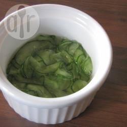 Ingemaakte komkommers recept