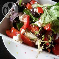 Snelle griekse salade recept