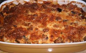Vegetarische moussaka recept
