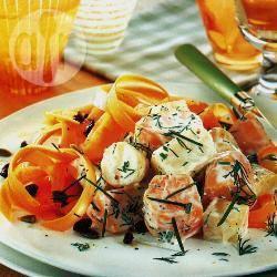 Romige wortelgroentesalade recept