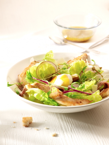 Recept 'the one and only caesar salad'