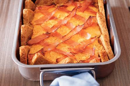 Broodschotel met zuurkool