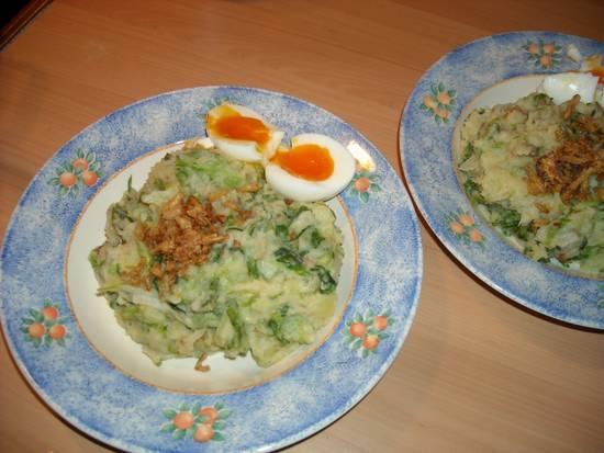 Indonesische stamppot andijvie recept