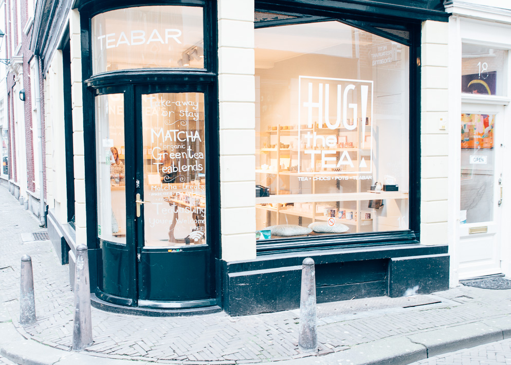 Hotspot: hug the tea den haag