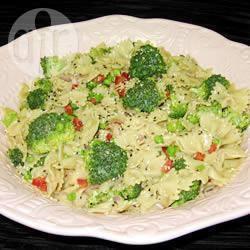 Oosterse pastasalade recept