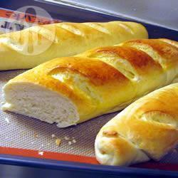 Hapjes op basis van stokbrood recept