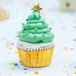 Kerstboom cupcake recept