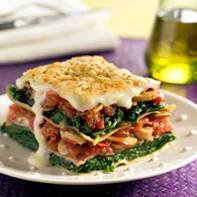 Lasagne met spinazie en ham recept