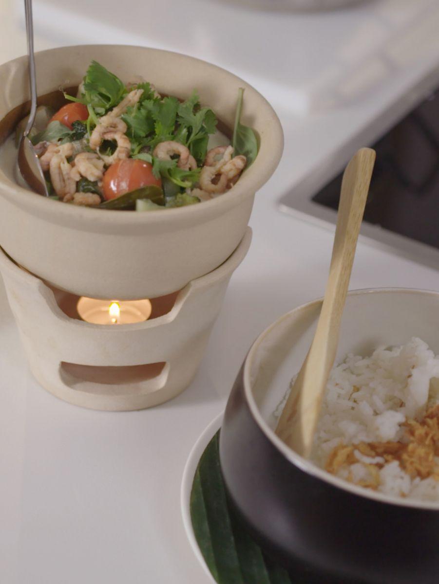 Recept 'thaise viscurry met noordzeevis'