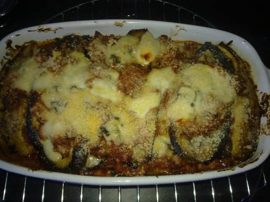 Aubergine lasagna recept