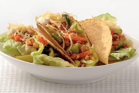 Vega-taco's met kaas