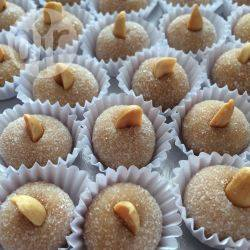Cajuzinho (braziliaanse pindasnoepjes) recept