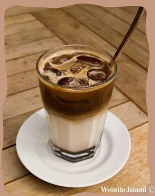 Cafe glace recept