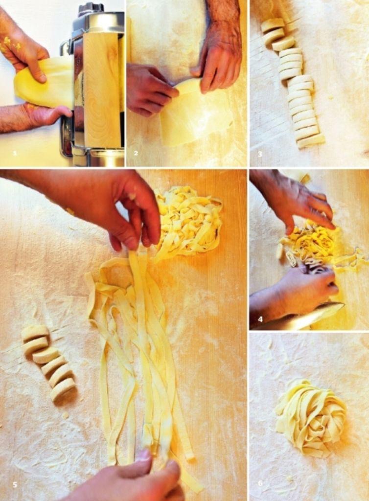 Recept 'peppe's basisrecept voor tagliatelle'