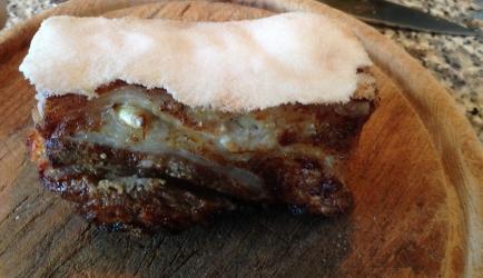 Geroosterd buikspek / roast pork recept