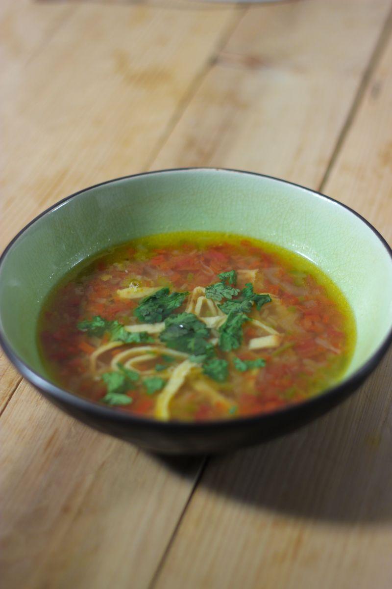 Recept 'mexicaanse limoensoep '